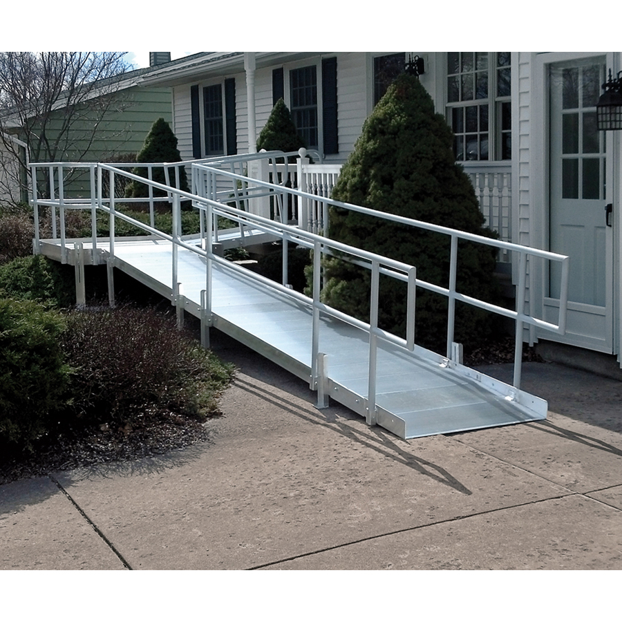 Wheelchair ramp folding motor autos post for Modular homes handicapped accessible