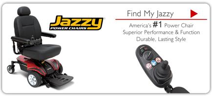 Description: Jazzy Power Chairs - Find My Jazzy