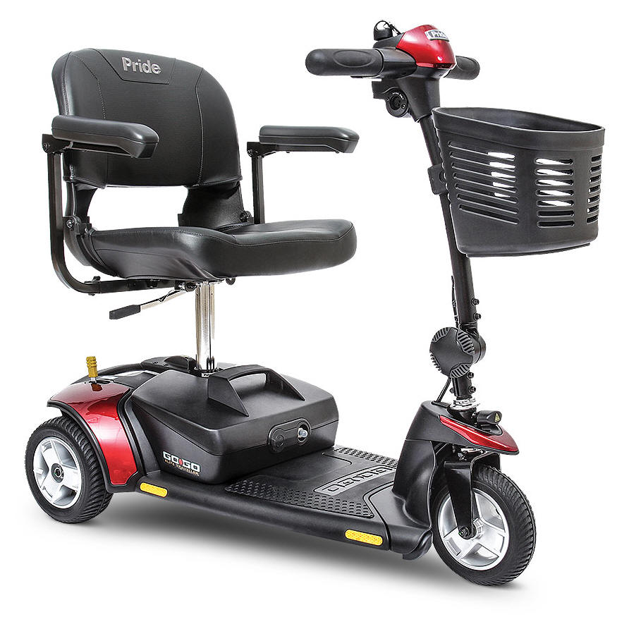 los angeles 3 wheel mobility electric scooter are 4 wheeled senior elderly cart