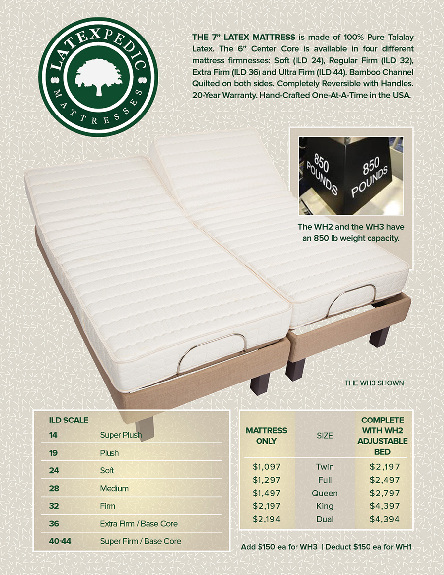 San Francisco Adjustable Beds